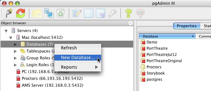 install postgresql mac shared memory